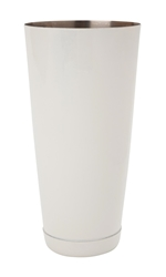 Beaumont 28 fl oz Boston Can Powder Coated WHITE (Each) Beaumont, 28, fl, oz, Boston, Can, Powder, Coated, WHITE, Beaumont