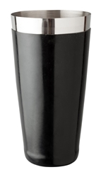 Beaumont 28 fl oz Boston Can Vinyl Coated BLACK (Each) Beaumont, 28, fl, oz, Boston, Can, Vinyl, Coated, BLACK, Beaumont
