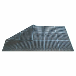 Rubber Floor Mat Black 150 x 90 x 1.2cm (Each) Rubber, Floor, Mat, Black, 150, 90, 1.2cm, Beaumont