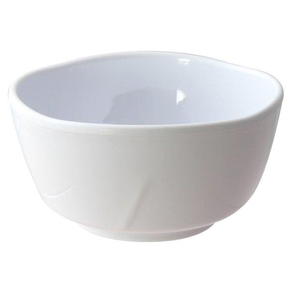 16 oz, 5 1/8?x 2 5/8? / 130mm X 67mm Bowl, Classic White