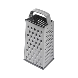 Stainless Steel Box Grater 9X4X3 (Each) Stainless, Steel, Box, Grater, 9X4X3, Nevilles