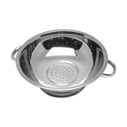 Economy Stainless Steel Colander 11Tube Hdl. (Each) Economy, Stainless, Steel, Colander, 11Tube, Hdl., Nevilles