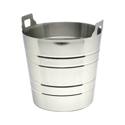 Stainless Steel Wine Bucket With Integral Handles (Each) Stainless, Steel, Wine, Bucket, With, Integral, Handles, Nevilles