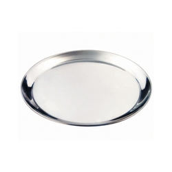 Stainless Steel 12 Round Tray 300mm (Each) Stainless, Steel, 12, Round, Tray, 300mm, Nevilles