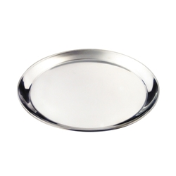 Stainless Steel 14 Round Tray 350mm (Each) Stainless, Steel, 14, Round, Tray, 350mm, Nevilles