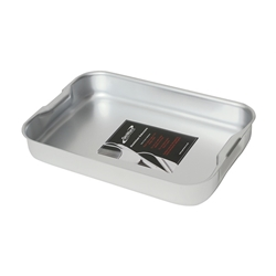 Baking Dish-With Handles 420X305X70mm (Each) Baking, Dish-With, Handles, 420X305X70mm, Nevilles