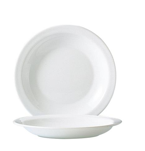 "Hoteliere Soup Plate 8.9"" 22.6cm (24 Pack) Hoteliere, Soup, Plate, 8.9"", 22.6cm"