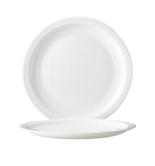 "Hoteliere Dinner Plate 9.3"" 23.5cm (24 Pack) Hoteliere, Dinner, Plate, 9.3"", 23.5cm"