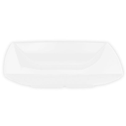 28 oz, 8 1/2? / 215mm Square Salad Bowl, 1 5/8? / 40mm Deep, Classic White