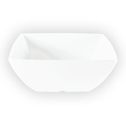 2 1/2 oz, 2 5/8? / 65mm Square Bowl, 1 3/8? / 35mm Deep, Classic White