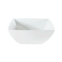60 oz, 8? / 200mm Square Bowl, 3 1/4? / 80mm Deep, Classic White