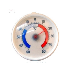 Dial Type Freezer Thermometer -50 To 50 Degrees C (Each) Dial, Type, Freezer, Thermometer, -50, To, 50, Degrees, C, Nevilles