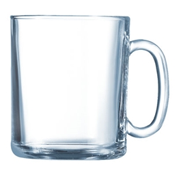 Clear Mug 11.3oz  (36 Pack) Clear, Mug, 11.3oz,