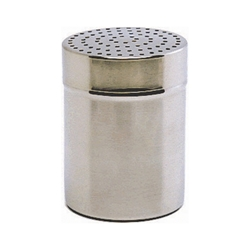 Stainless Steel Shaker with large 4mm hole.(Plastic Cap) (Each) Stainless, Steel, Shaker, with, large, 4mm, hole.Plastic, Cap, Nevilles
