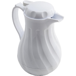 Beverage Server White 40oz 1.2 Ltr (Each) Beverage, Server, White, 40oz, 1.2, Ltr, Nevilles