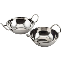Stainless Steel Balti Dish 13cm(5)With Handle (Each) Stainless, Steel, Balti, Dish, 13cm5With, Handle, Nevilles