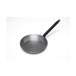 Genware Black Iron Frypan 10/255mm (Each) Genware, Black, Iron, Frypan, 10/255mm, Nevilles