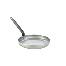 Genware Black Iron Omelette Pan 10/254mm (Each) Genware, Black, Iron, Omelette, Pan, 10/254mm, Nevilles