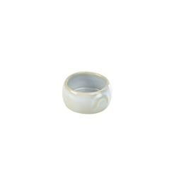 Terra Stoneware Rustic White Butter Pot 3oz/90ml (12 Pack) Terra, Stoneware, Rustic, White, Butter, Pot, 3oz/90ml, Nevilles