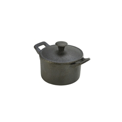 Mini Cast Iron Casserole Dish 10X6cm (Each) Mini, Cast, Iron, Casserole, Dish, 10X6cm, Nevilles