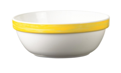 "Brush Yellow Stackable Bowl 4.7"" 12cm (36 Pack) Brush, Yellow, Stackable, Bowl, 4.7"", 12cm"