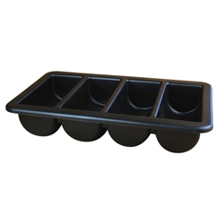 Cutlery Tray/Box 1/1 Black 13 x 21 (Each) Cutlery, Tray/Box, 1/1, Black, 13, 21, Nevilles