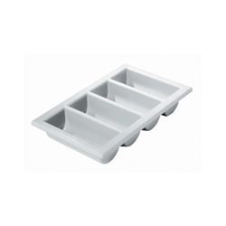 Cutlery Tray/Box 1/1 13 x 21 Grey (Each) Cutlery, Tray/Box, 1/1, 13, 21, Grey, Nevilles