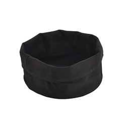 Black Cotton Bread Bag 20cm Diameter x 14cm High (Each) Black, Cotton, Bread, Bag, 20cm, Diameter, 14cm, High, Nevilles
