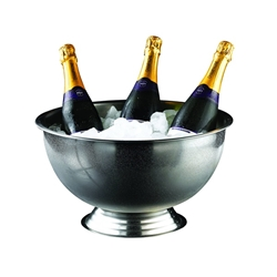 Genware Stainless Steel Champagne Bowl 38cm (Each) Genware, Stainless, Steel, Champagne, Bowl, 38cm, Nevilles