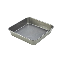 Carbon Steel Non-Stick Square Cake Pan (Each) Carbon, Steel, Non-Stick, Square, Cake, Pan, Nevilles