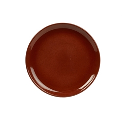 Terra Stoneware Rustic Red Coupe Plate 24cm (12 Pack) Terra, Stoneware, Rustic, Red, Coupe, Plate, 24cm, Nevilles