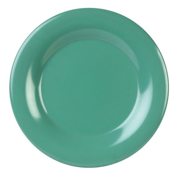 Wide Rim Plate 10 1/2? / 270mm, Green