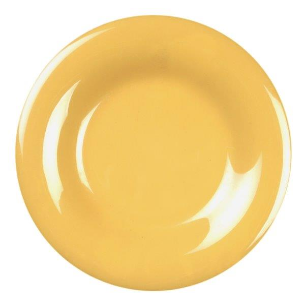 Wide Rim Plate 10 1/2? / 270mm, Yellow