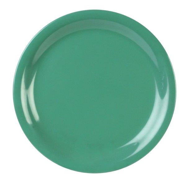 Narrow Rim Plate 10 1/2? / 265mm, Green