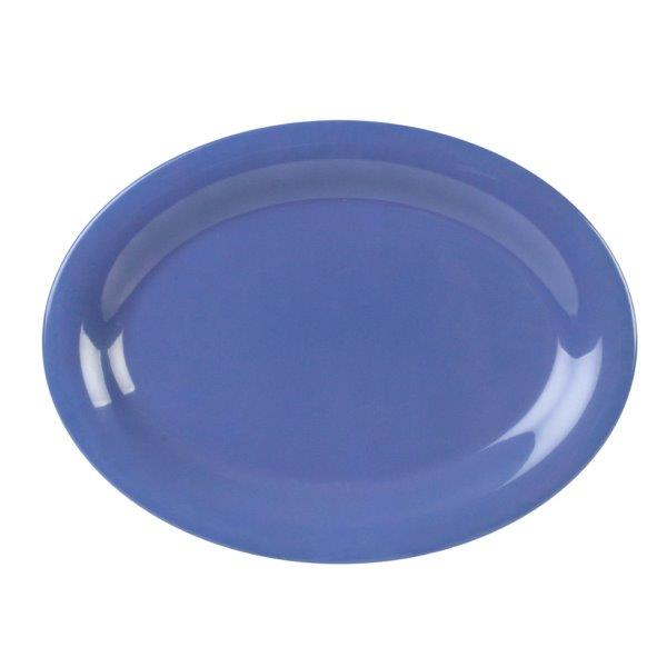 13 1/2? X 10 1/2? / 345mm X 265mm Platter, Blue (12 Pack)