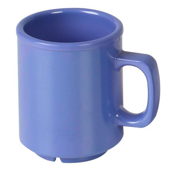 8 oz Mug, Blue (12 Pack)