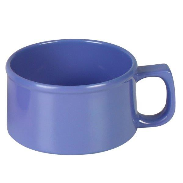 10 oz, 4? / 100mm Soup Mug, Blue (12 Pack)