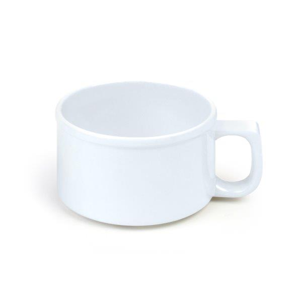 8 oz, 4? / 100mm Soup Mug, White