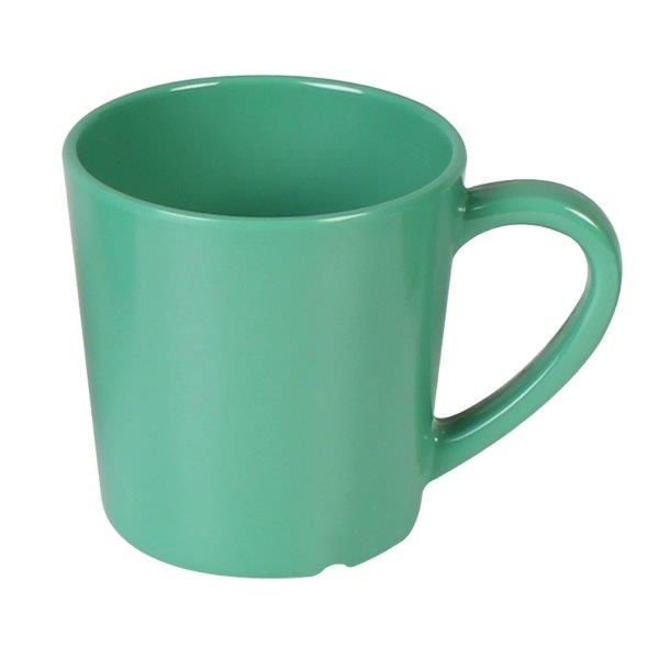 7 oz, 3 1/8in / 80mm Mug/Cup, Green (4 Pack)