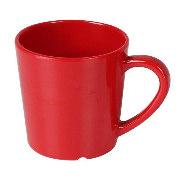 7 oz, 3 1/8? / 80mm Mug/Cup, Pure Red (12 Pack)