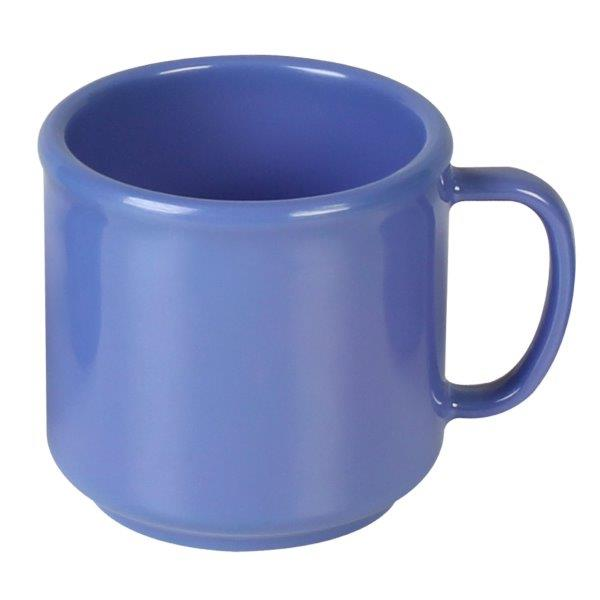 10 oz Mug, Purple (12 Pack) Blue (12 Pack)