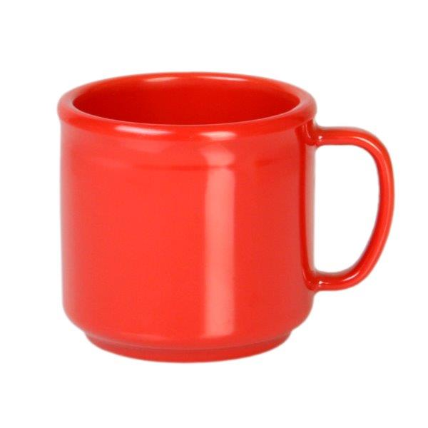 10 oz Mug, Pure Red (12 Pack)