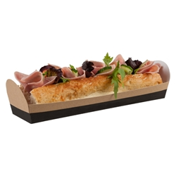 Cafe Today Open Baguette Tray (slate grey)