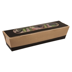 Cafe Today Tuck-top Baguette Box (slate grey)