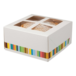 Four Cake Box & Insert