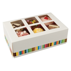 Six Cake Box & Insert