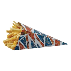 Union Jack Small Cone Union, Jack, Chip, Cone, Small, Popcorn, Chicken, Flag, English