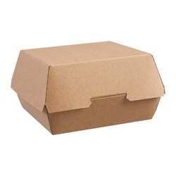 Large hamburger pack (kraft)
