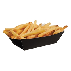 Black Open Tray, Small