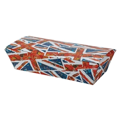 Union Jack Medium Box Union, Jack, Chip, box, fishnchip, fish, Chip, Flag, English, fishandchip